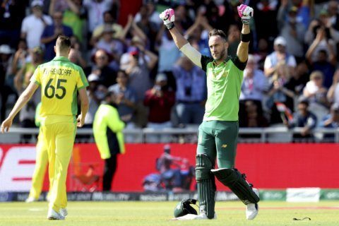 Australia to face England in WCup semis after loss to SA