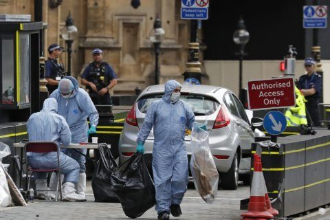 Man who rammed people by UK Parliament guilty of murder bid