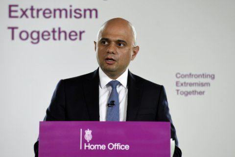 UK's home secretary calls for calming of political rhetoric