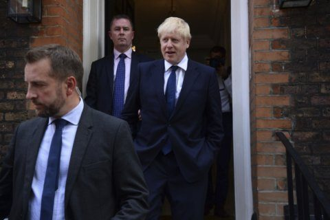 The Latest: Netanyahu welcomes Johnson as Britain's next PM