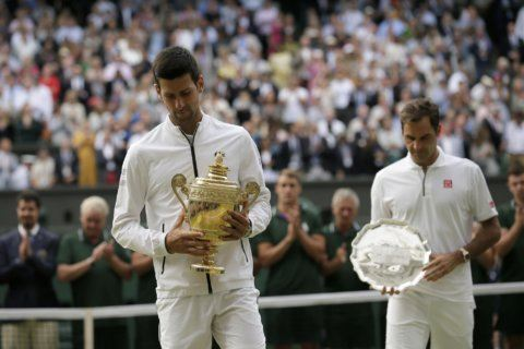 Analysis: Djokovic looks like he could catch Federer, Nadal