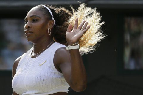 Serena Williams 2 for 2 at Wimbledon; wins in singles, mixed