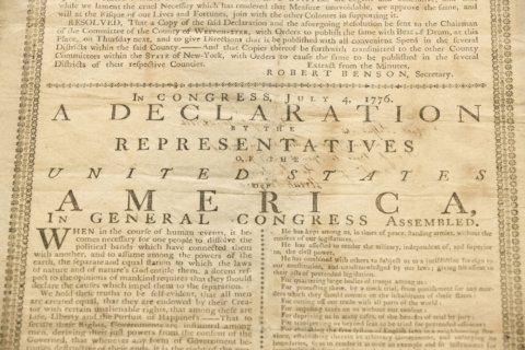 Declaration of Independence still inspires activists