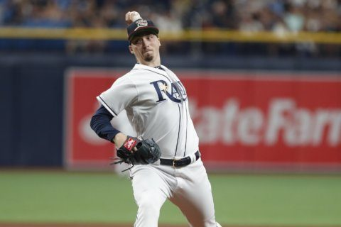 LEADING OFF: Snell seeks Bronx rebound, Trout gets MRI
