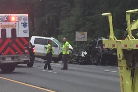 Woman dead in crash which closed Inner Loop for hours in Prince George's County