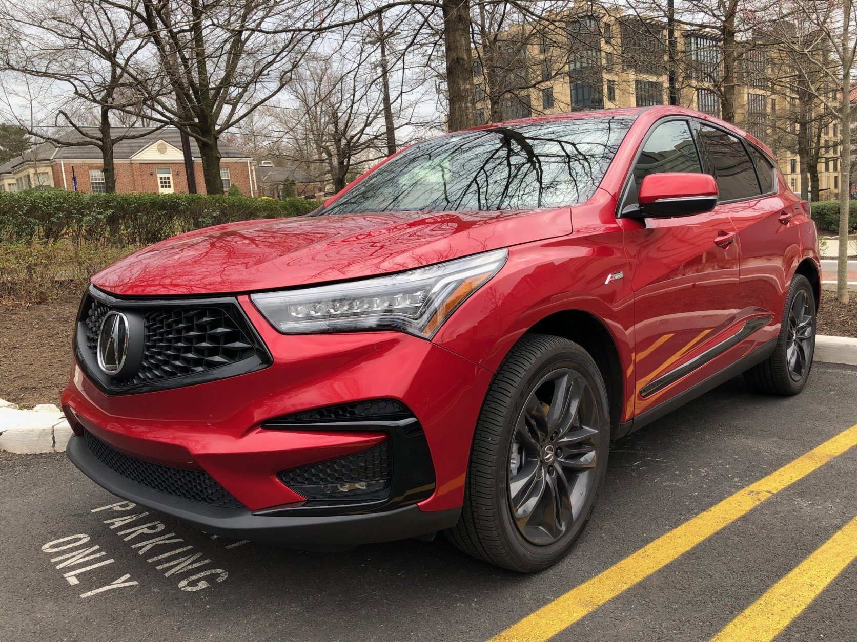 Front view of Acura RDX
