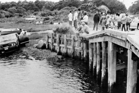 AP Was There: Sen. Kennedy's fateful crash on Chappaquiddick