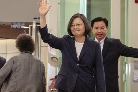 China says US should not allow visit by Taiwan's leader