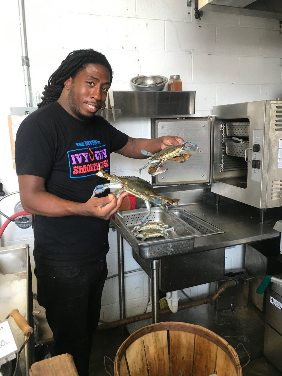 """Gator"" Thompson of The Market at Ivy City Smokehouse"