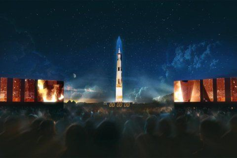 'Once-in-a-lifetime' light show on Washington Monument to mark Apollo 11