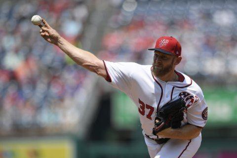 Strasburg fires gem for MLB-best 14th win, Nats rout Dodgers