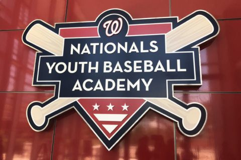Nats give back with a day at their youth baseball academy in Southeast DC