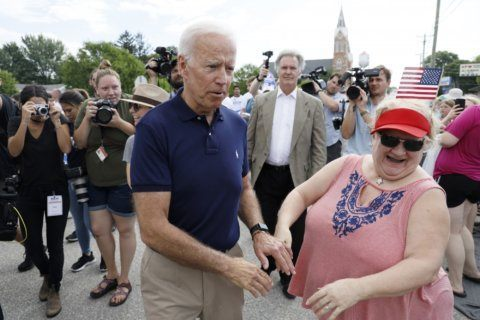 Biden says having a female vice president would be 'great'