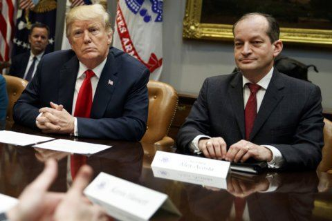 Acosta defends Epstein deal amid calls for his resignation