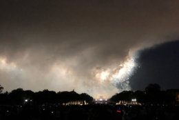 """""""What those thunderstorms did was stabilize the atmosphere by creating that cool layer of air close to the ground relative to the air a few thousand feet up,"""" said Storm Team4 meteorologist Matt Ritter."""