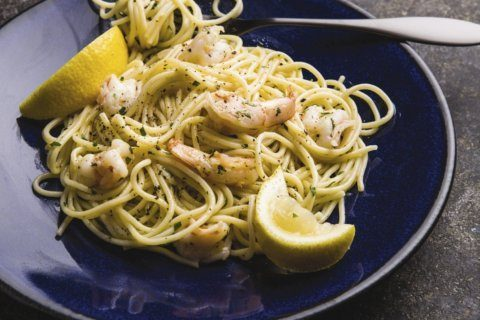 This delicious pasta and shrimp dish will take you to Venice