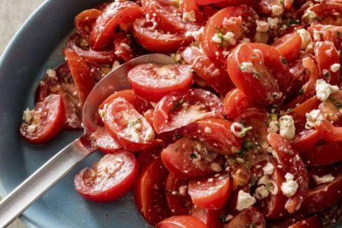 Greek yogurt creates a creamy, spice-infused salad dressing