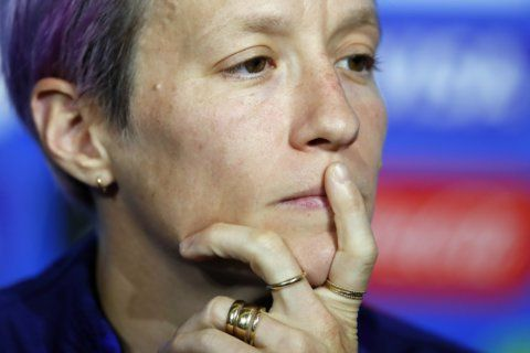 On the eve of the World Cup final, Rapinoe calls out FIFA