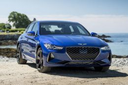 2019 Genesis G70 Lease Deal: $299 per month for 36 months with $3,400 due at signing (Courtesy Genesis Motor America)