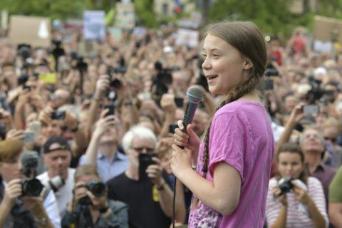 Teen climate activist gets Normandy's first Freedom Prize