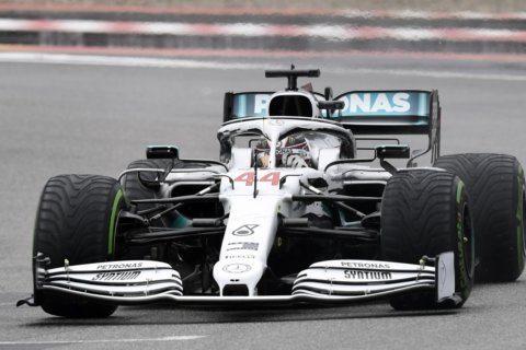 Nerveless Verstappen excels in the rain; Mercedes struggles