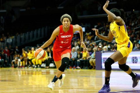 Colson has 17, Aces hand Mystics 3rd straight loss 85-81