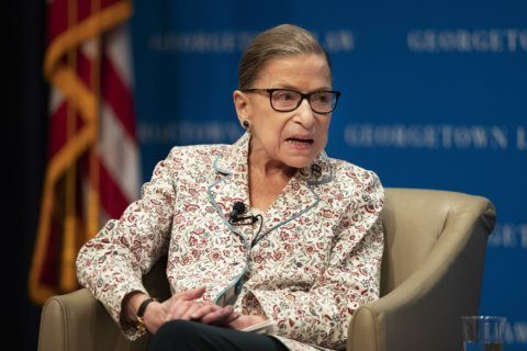 SUPREME COURT NOTEBOOK: Did Ginsburg hint at census outcome?