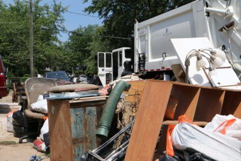 Over 1,000 residents submit flood damage reports; crews haul 60 tons of debris