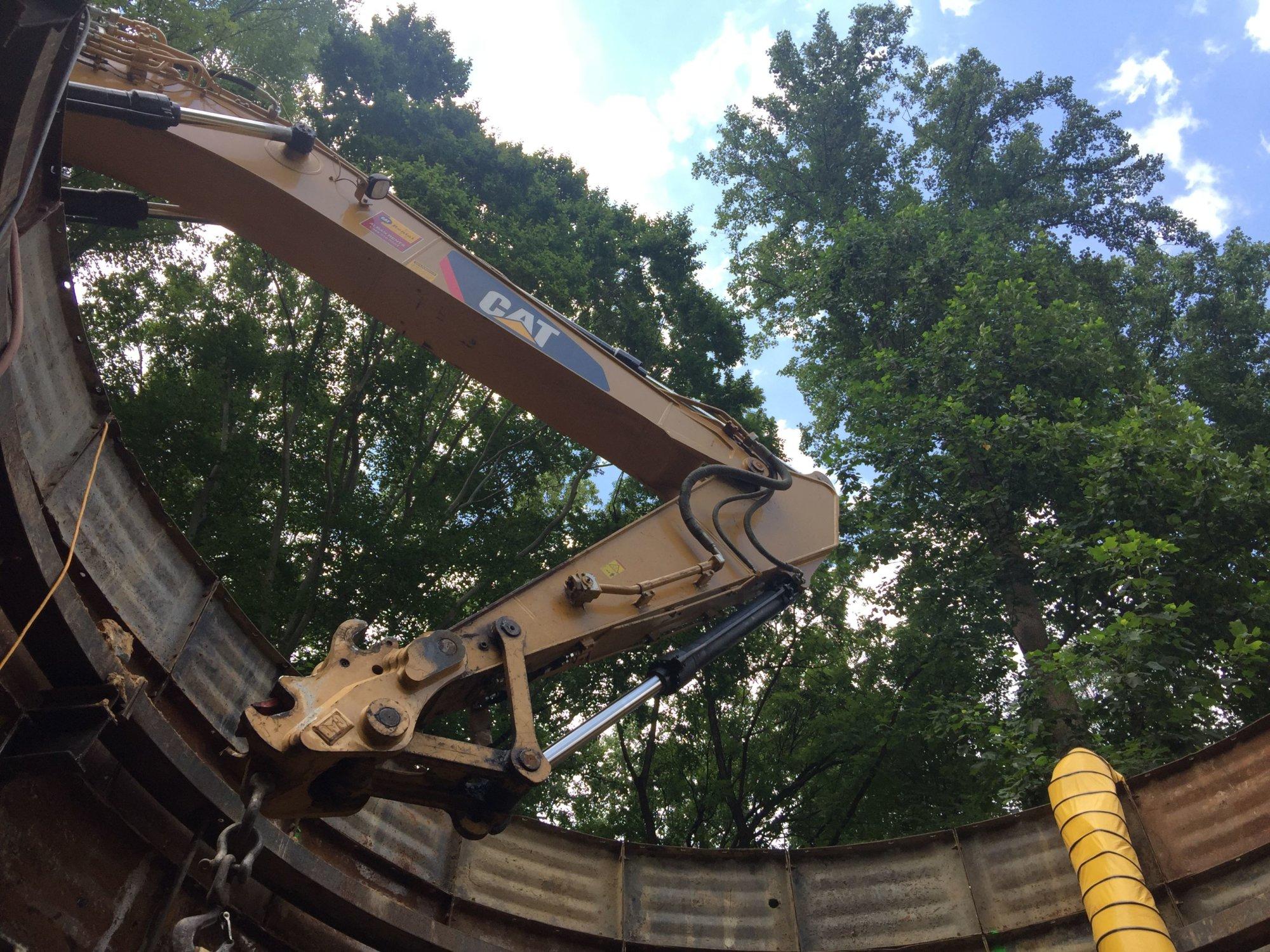GW Parkway construction