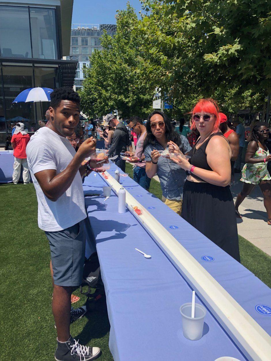 Ice Cream Jubilee longest sundae