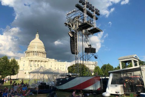 It's going to be grand: 'A Capitol Fourth' rehearsals impress