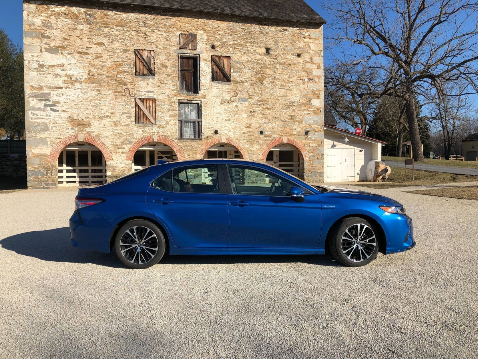 Side shot of 2019 Toyota Camry