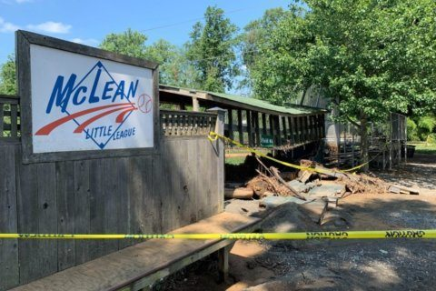 Fundraising starts to help damaged McLean Little League complex