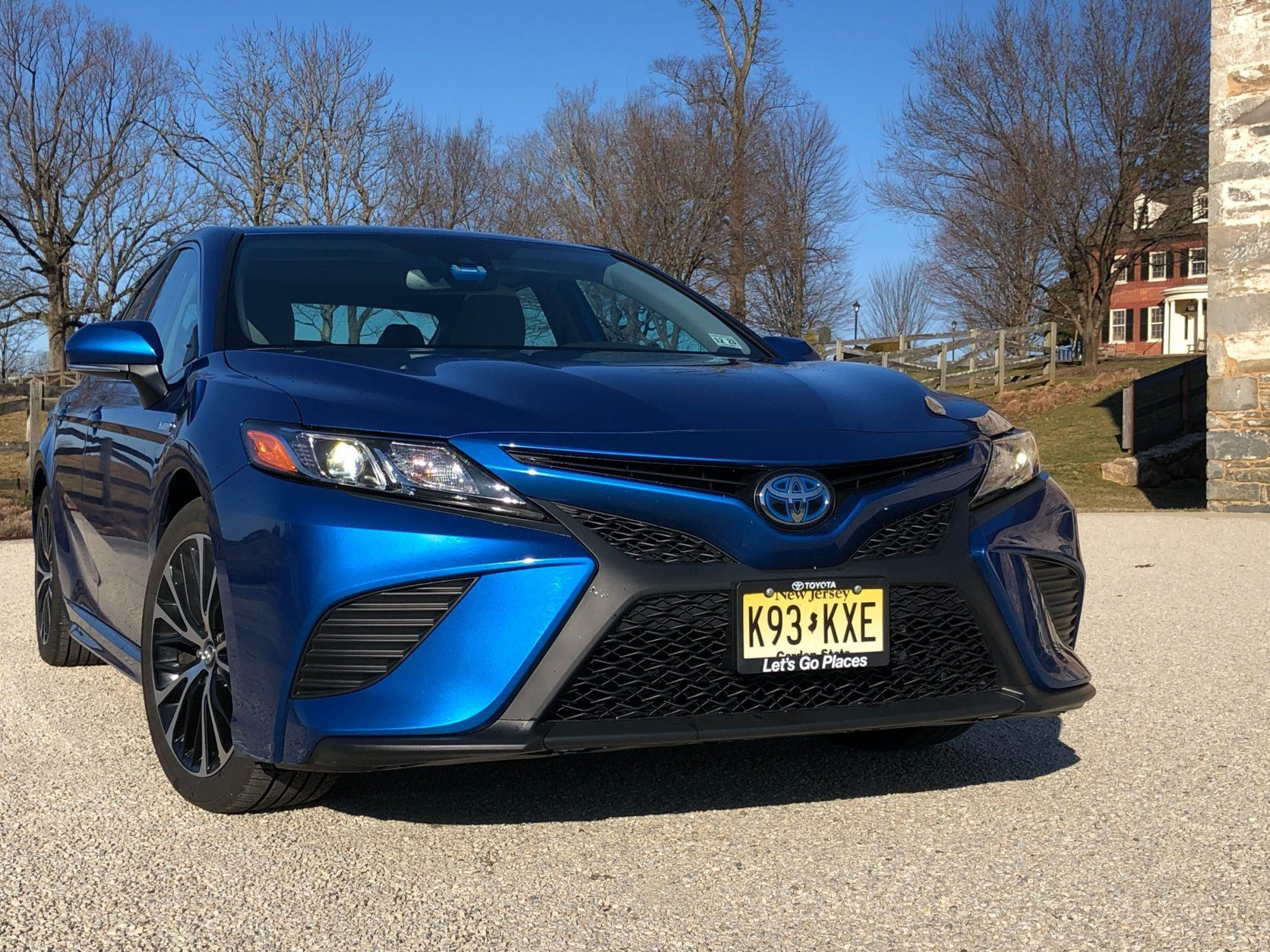 Front end of 2019 Camry