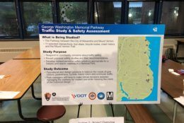 Information at GW Parkway meeting