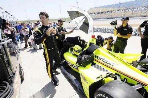 Newgarden dominates in IndyCar victory in Iowa