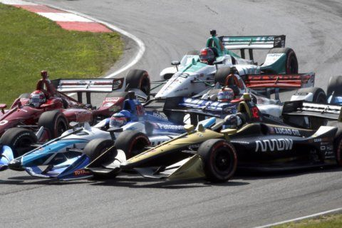Scott Dixon races to 6th victory at Mid-Ohio