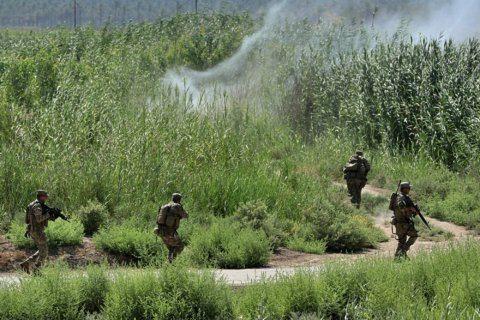 Iraqi forces clear farmland near Baghdad of IS militants