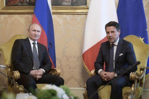 Italy: Salvini aide behind lobbyist presence at Putin dinner