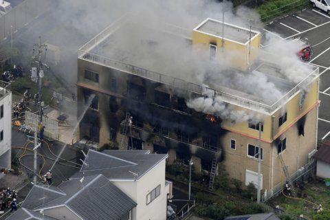 Man shouting 'You die' kills 33 at Japan anime studio