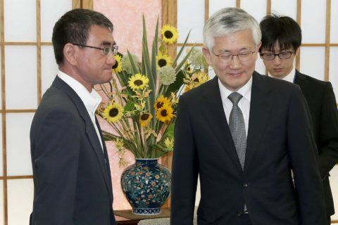 Japan vows action if S. Korea hurts companies in trade row