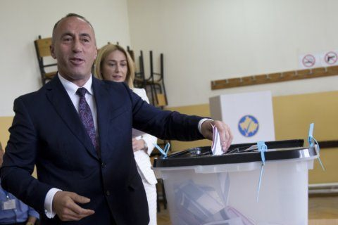 Kosovo prime minister formally hands in resignation letter