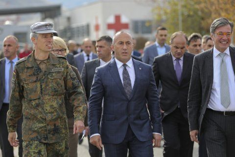 Serbia's president says Kosovo PM's resignation is a 'trick'