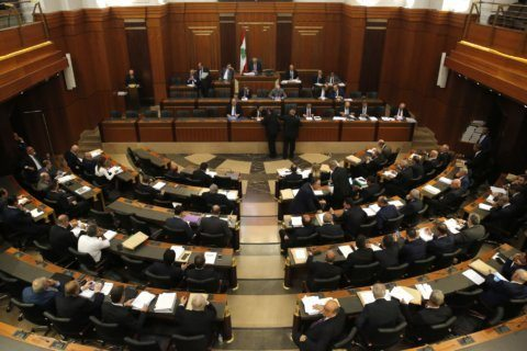Lebanese parliament convenes on budget amid tight security