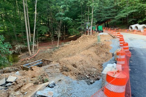 Residents of Potomac neighborhood relieved as Belfast Road reopens following washout