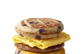 The McGriddles sandwich was first added to the McDonald's menu in 2003.