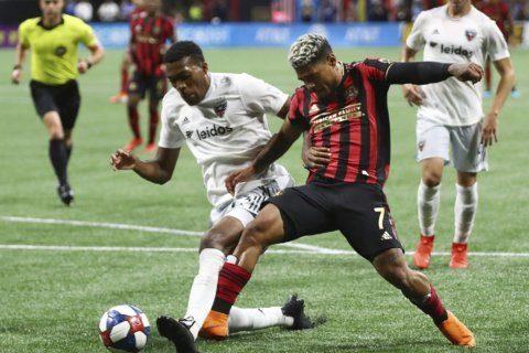 Atlanta United scores late goals to beat DC United 2-0