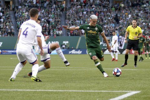 Ebobisse scores in 83rd, Timbers tie Orlando City 1-1