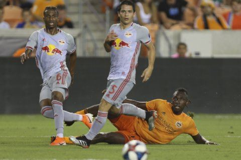 Elis, Dynamo beat Red Bulls, snap 3-game losing streak