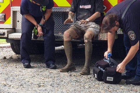 Dogs alert passersby to assist Md. man trapped on C&O Canal trail